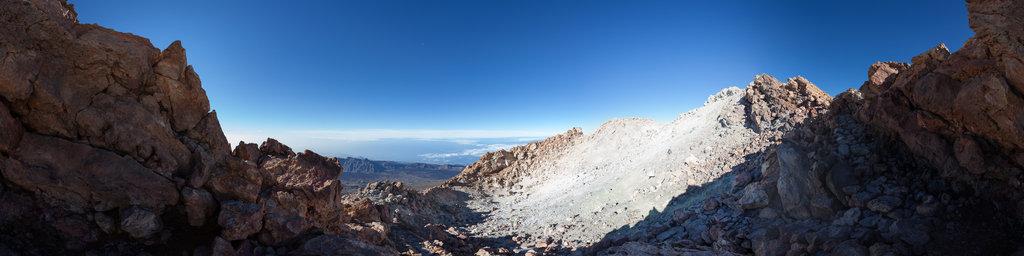 Mt Teide crater