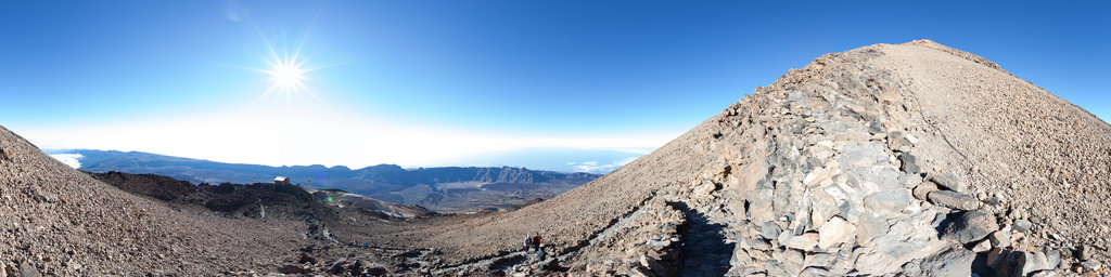 Mt Teide, almost at the top