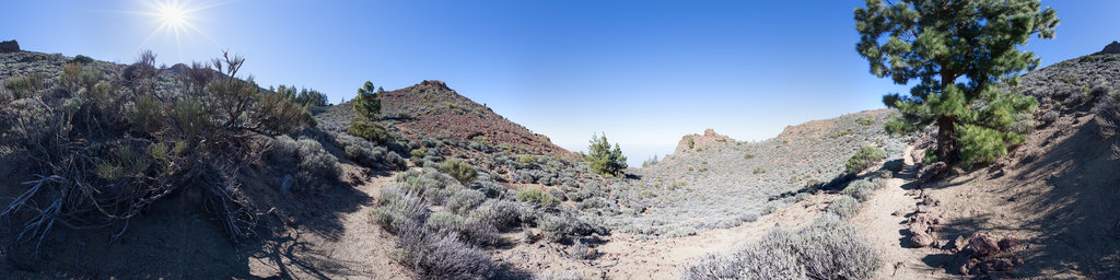 Parque Nacional del Teide Sendero Nº14 Alto de Guamazo