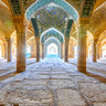 * Vakil Mosque Shiraz *
