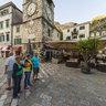 Montenegro 2014. Kotor. Trg od Oružja. Clock Tower.