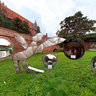 Dialog of Space - exhibition in Malbork Castle. Gigapixel panorama