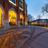JAGIELLONIAN UNIVERSITY – COLLEGIUM NOVUM - Next To The Entrance At Night