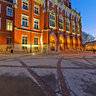 JAGIELLONIAN UNIVERSITY - COLLEGIUM NOVUM - Next To The Nicolaus Copernicus Statue At Night