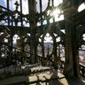 In the tower of the Ulmer Münster
