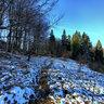 Resztki sniegu ( Bieszczady )