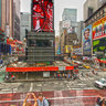 Times Square NYC HDR style