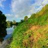 Protva river in Russia