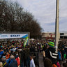 Silvester 2012 run race around the Maschsee in Hannover, Germany