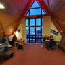 Alpine Sports club A-frame Hut based at Mt Ruapehu, New Zealand