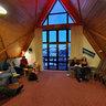 Alpine Sports club A-frame Hut based at Mt Ruapehu, New Zealand