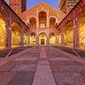Milan: Basilica of St Ambrogio - Atrium after sunset