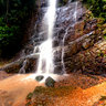 Waterfall in Penuelas.