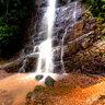 Waterfall in Penuelas.