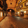 Rothenburg Markusturm at night 2012
