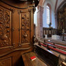 Bronnbach monastery in the choir stalls 2012