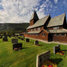Røldal stave church 2012