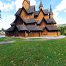 Notodden stave church Heddal 2012