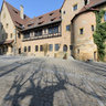 Bamberg Altenburg Castle courtyard 2014