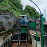 The Lynton & Lynmouth Cliff Railway, Lynmouth End.