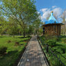 Kirov park near the small church
