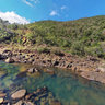 Petroglyph Dumbea River New Caledonia