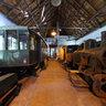 Historicka lesní uvratova zeleznice Vychylovka - depo