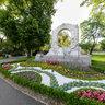 Wien Stadtpark, Johann Strauss Denkmal