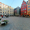Stortorget square at Gamla Stan - Stockholm - Sweden