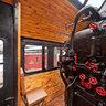 Steam Locomotive Cabin