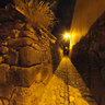 Ollantaytambo at night