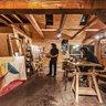 Travis in the Shilling Studio 2012