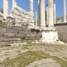 Pergamum Acropolis, near Dikili, Turkey