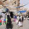 Tin suq, Sana'a, Yemen