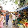 Cho Vuon Chuoi market, Ho Chi Minh City, Vietnam
