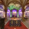 Bamberger Dom - Installation in der Ostkrypta - Blick auf den Senegal
