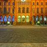 Künstlerhaus mit Installation Das große Leuchten von Stephan Huber