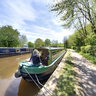 Narrowboat Parking Brynich Aqueduct Monmouthshire Brecon Canal