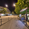 Postplatz_Calanda_by_Night