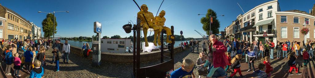 Living Statues 2013 Arnhem: BEET