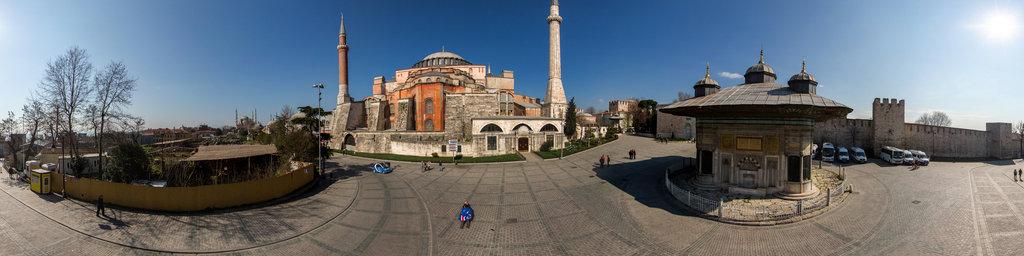 Topkapi square, behind Hagia sophia, Istanbul