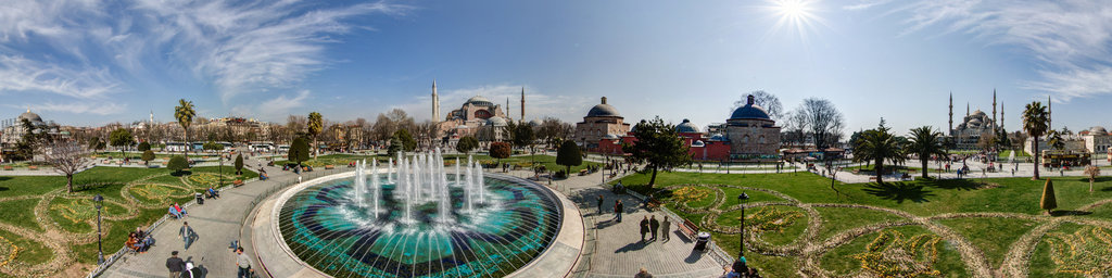 Fountain at Sultan Ahmet Parki, Istanbul