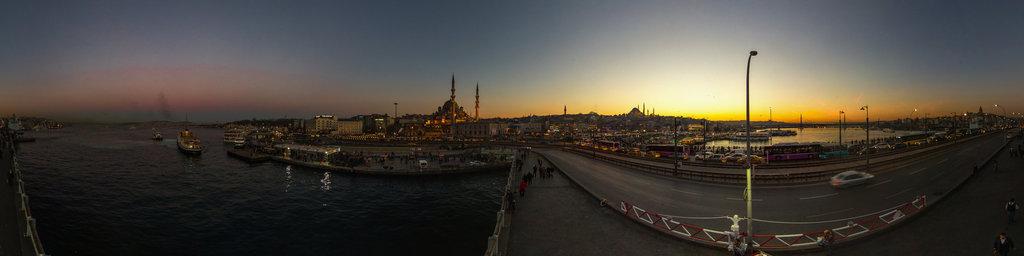 New Mosque, galata bridge, Istanbul