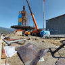 Giant Atatürk Monument under Construction on 8 October 2011 Pano 1