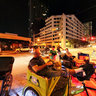 Pedicab (rickshaw) drivers in Austin