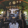 Cockpit of the Steam Locomotive D51