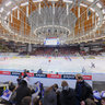 Ice Hockey match in Kajot Arena, Masaryk University vs Brno University of Technology