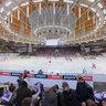 Ice Hockey match in Kajot Arena, Masaryk University vs Brno University of Technology