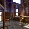 Barn Interior - Yost Homestead, Trout Lake, Washington