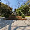 Shantou, Zhongshan Park, the bronze statue of Dr. Sun Yat-sen